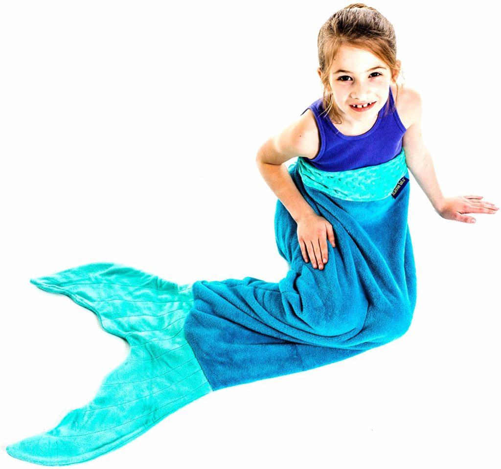 The Original Blankie Tails Mermaid Tail Blanket for Kids