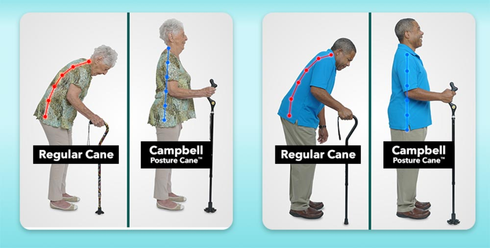 Campbell Posture Canes.