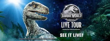 Jurassic world live tour reviews