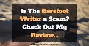 Barefoot writer reviews