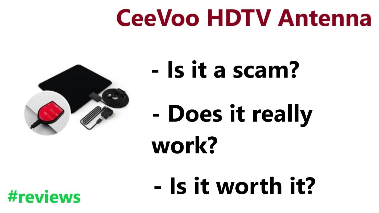 Ceevoo hdtv antenna reviews