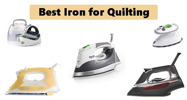 iron for quilting