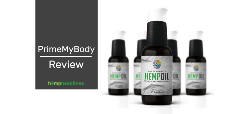 Prime body hemp oil