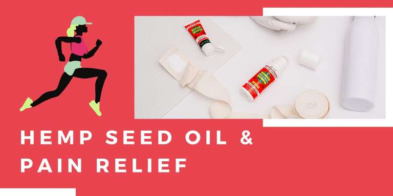 Hemp Seed Oil for Pain Relief
