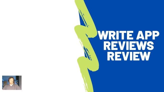 Write App Reviews