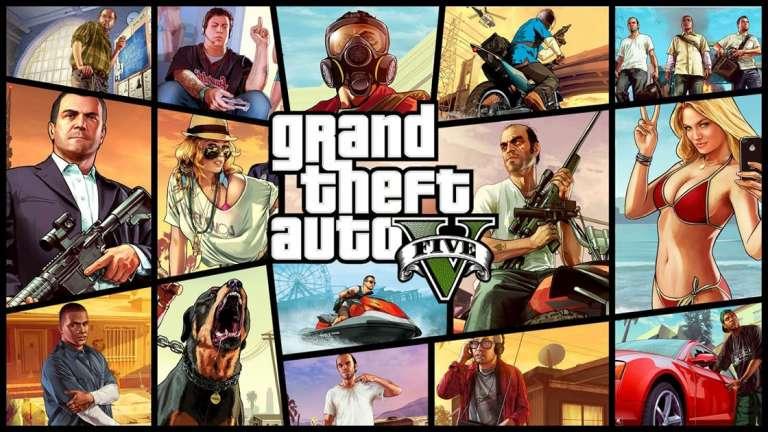 GTA 5 PS4 Downloads
