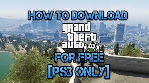 gta 5 ps3 download