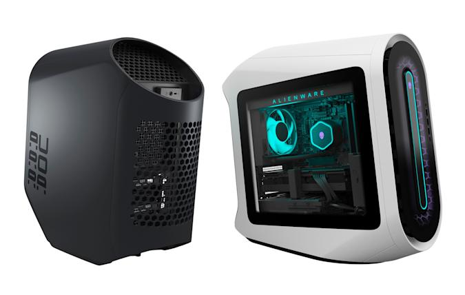 Alienware celebrates its 25th birthday with a redesigned flagship gaming desktop